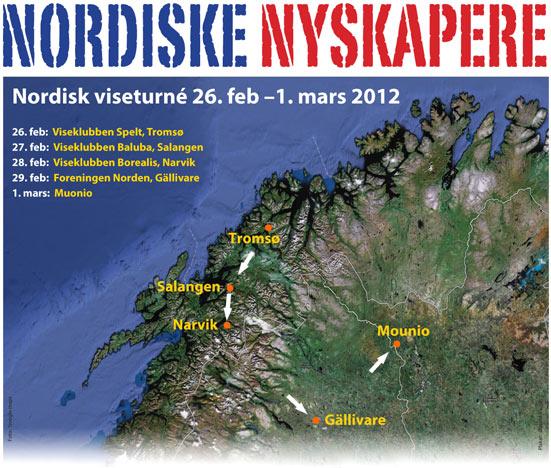 Plakat Nordiske Nyskapere