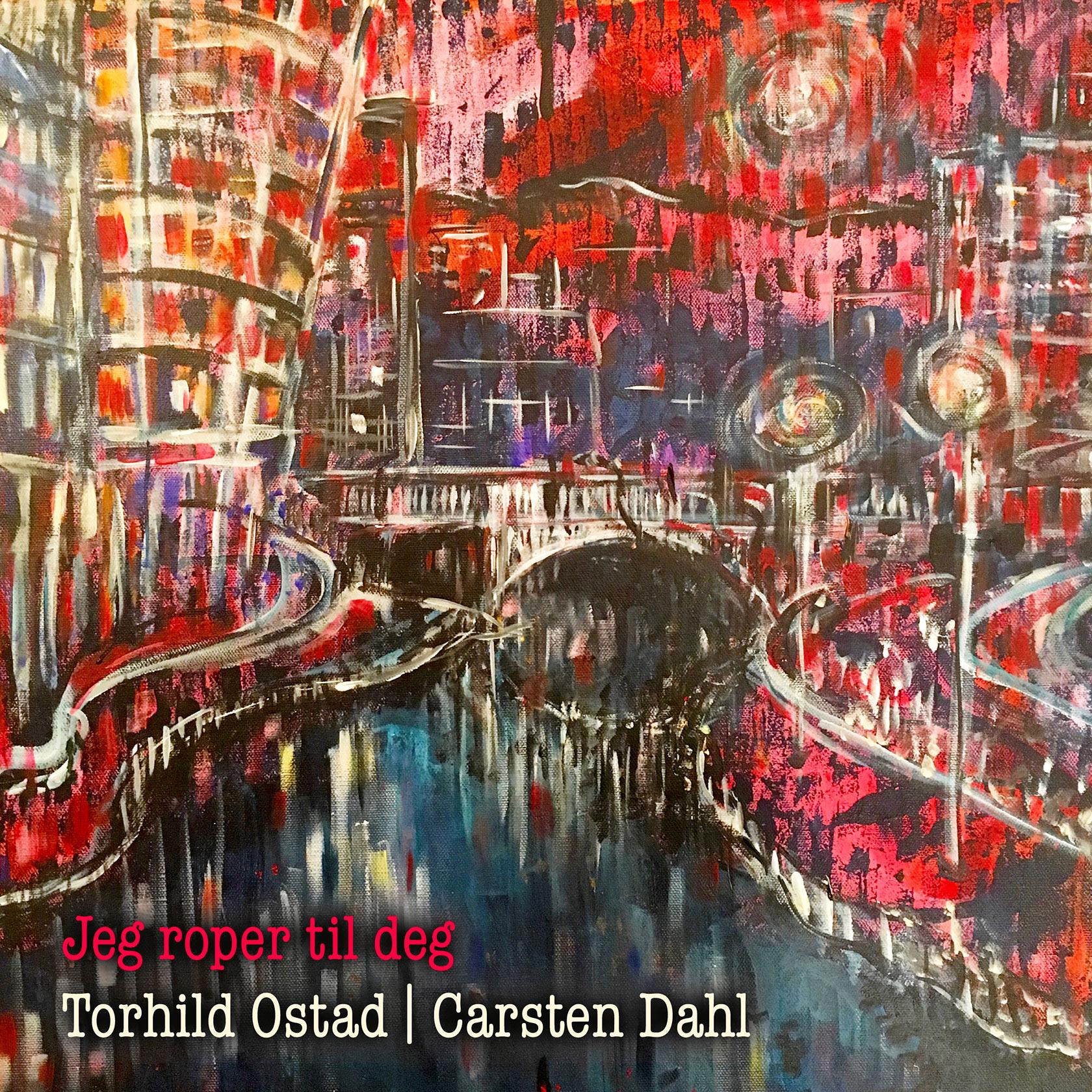 Torhild Ostad: Jeg roper til deg – CD-omslag