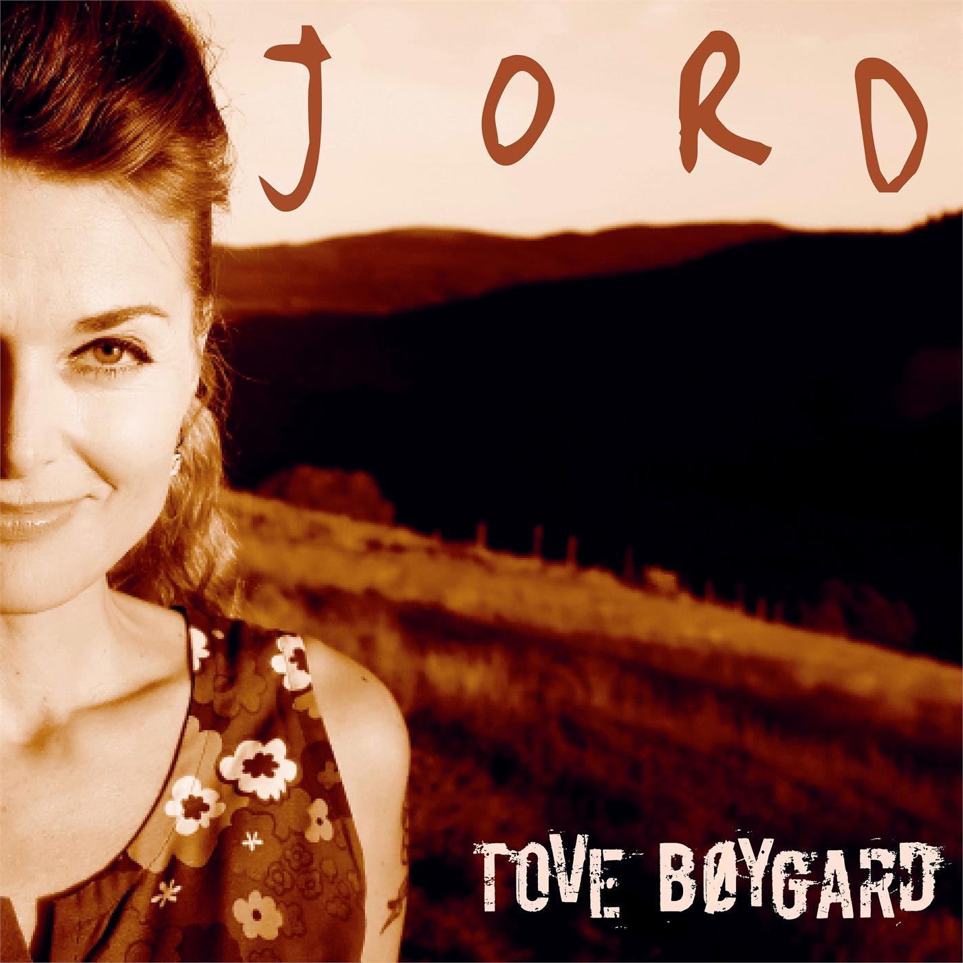 Tove Bøygard: Jord, LP-omslag
