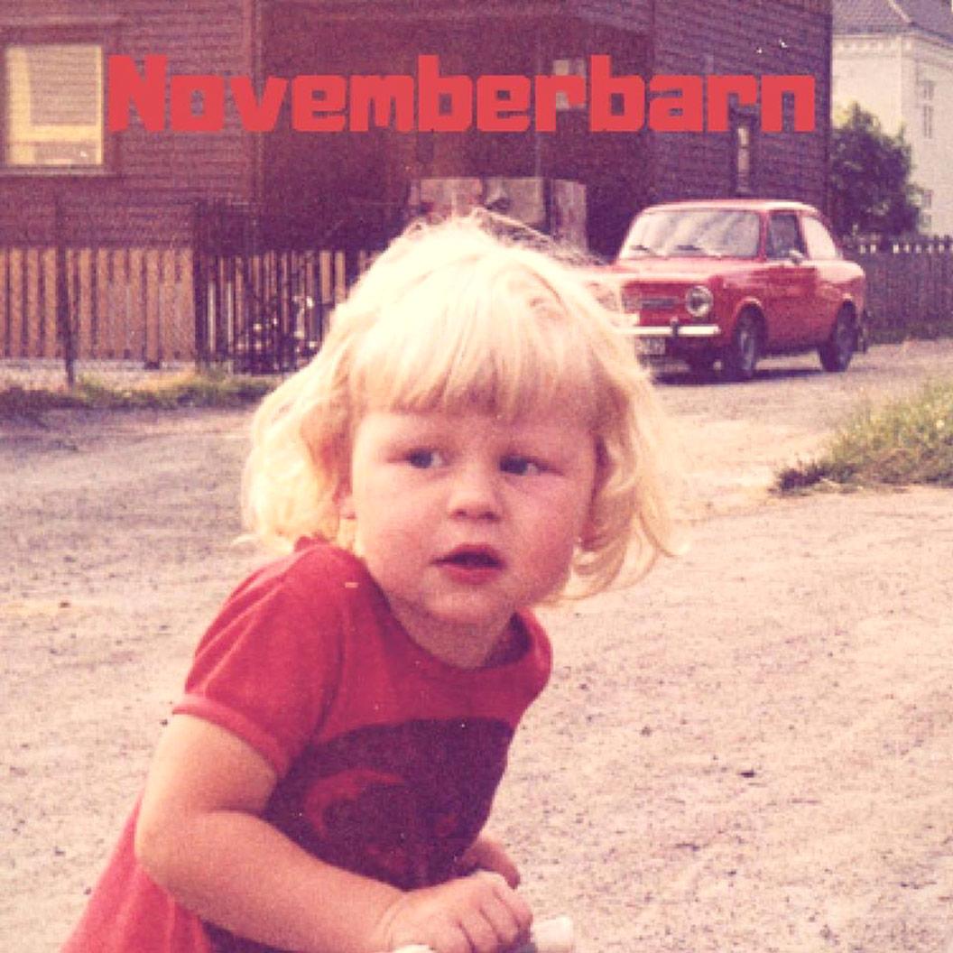 Omslag: Gunstein Novemberbarn